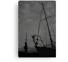 BW Verity Canvas Print