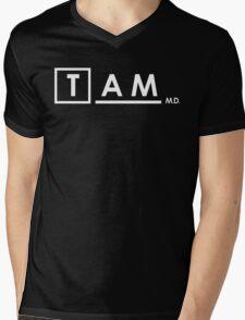 Dr. Simon Tam (Firefly) x House M.D. Mens V-Neck T-Shirt