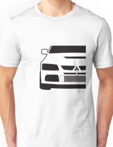 Mitsubishi Lancer Evo - Close Up Zoom Corner Sticker / Tee Design Unisex T-Shirt
