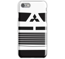 Mitsubishi Lancer Evo - Close Up Zoom Corner Sticker / Tee Design iPhone Case/Skin