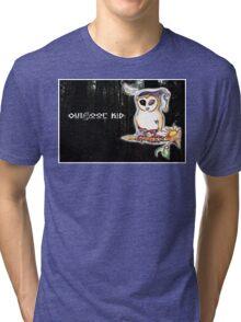 Owl Outdoor Kid Tri-blend T-Shirt