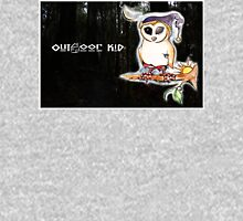 Owl Outdoor Kid Womens Fitted T-Shirt