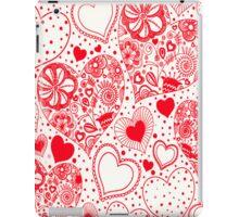 Red Hearts iPad Case/Skin