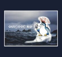 Outdoor Kid Penguin Punk by TwoShoes