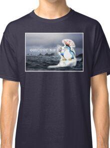 Outdoor Kid Penguin Punk Classic T-Shirt