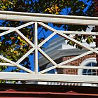 Through Monticello's Chinese Railing by John D'Alessandro