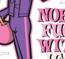 Nobody Fucks With Da Jesus Sticker