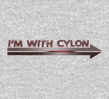 I'm With Cylon One Piece - Long Sleeve