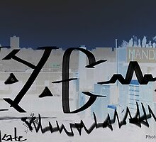 NYC midnight graffiti by Wildflower77