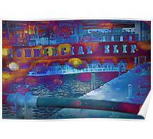 Commercial Slip. Buffalo, NY Poster