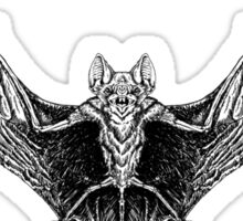 Vampire Bat Sticker