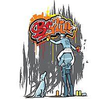 Berlin Graffiti Photographic Print