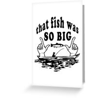 Fishing Joke Greeting Card