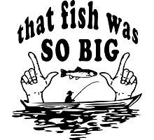 Fishing Joke Photographic Print
