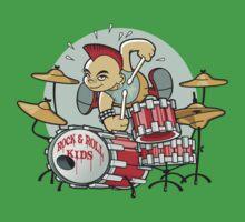 Rock N Roll Kids One Piece - Short Sleeve