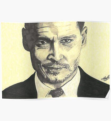 John Dillinger - Public Enemies Poster
