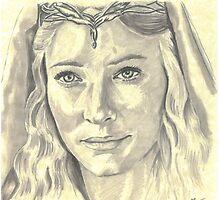 Galadriel - Lady of Light by Tony Heath