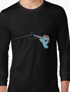 Rainbow Dash Pink Floyd Long Sleeve T-Shirt