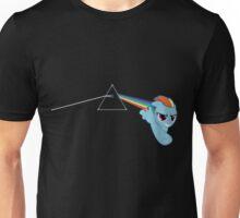 Rainbow Dash Pink Floyd Unisex T-Shirt