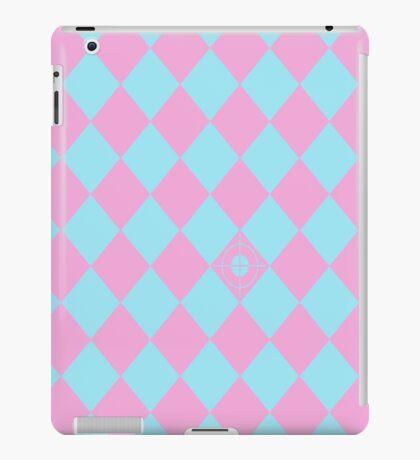 Random Target (pink & blue) iPad Case/Skin