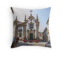 Capela das Malheiras Throw Pillow