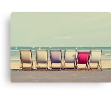 Vintage Summer Canvas Print