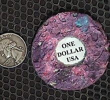 FIRST 1000% NONCOUNTERFEITABLE DOLLAR by aaron a amyx