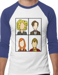 I like families, families are cool Men's Baseball ¾ T-Shirt