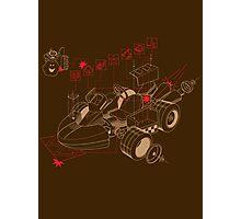 Kart Explosion Photographic Print