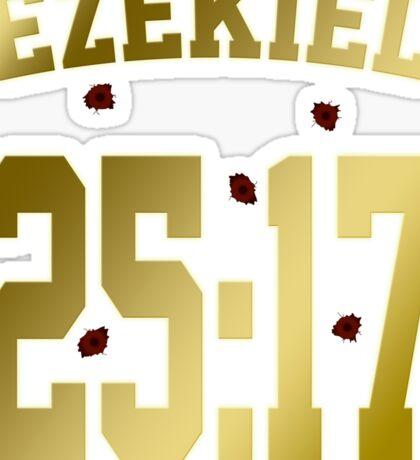 Ezekiel 25:17 Sticker