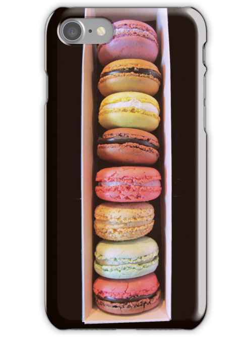 Take your macarons with you! - iphone case by bubblehex08
