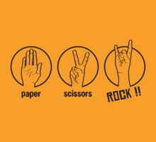 Paper Scissors Rock by DarkChoocoolat