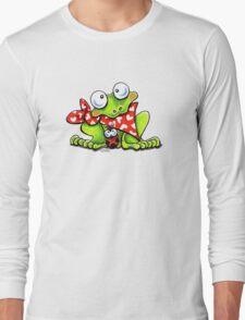 Sweet Frog n Ladybug Long Sleeve T-Shirt