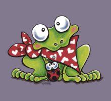 Sweet Frog n Ladybug {Kids} Kids Tee