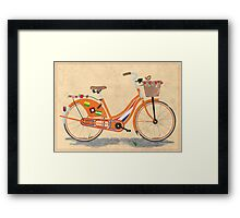 Love Holland, Love Bike Framed Print