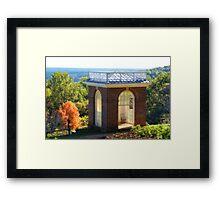 Jefferson's Windsor in Monticello's Garden Framed Print