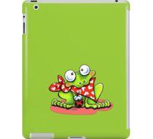 Sweet Frog n Ladybug iPad Case/Skin