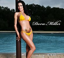 Dora Miller Yellow Bikini 8 by dreamofdora