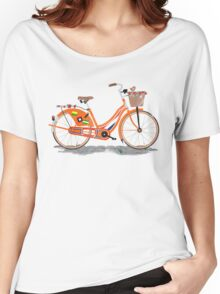Love Holland, Love Bike Women's Relaxed Fit T-Shirt