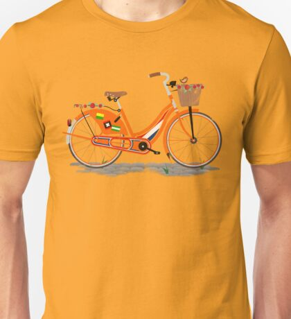 Love Holland, Love Bike Unisex T-Shirt
