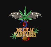 Cannabis Caduceus from Valxart.com  Long Sleeve T-Shirt