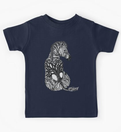 Zebra Tree Kids Tee
