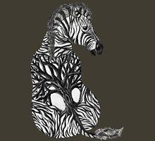 Zebra Tree Unisex T-Shirt