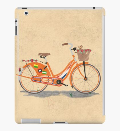 Love Holland, Love Bike iPad Case/Skin