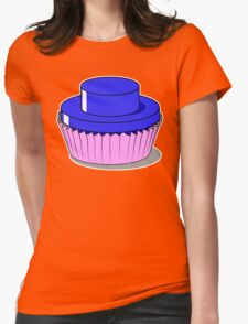 Stud Muffin - Blue Womens Fitted T-Shirt