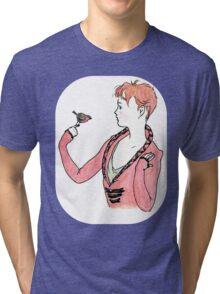 robin and boy Tri-blend T-Shirt