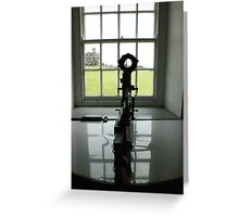 Through the looking glass Greeting Card