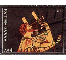 Orpheus Postage Stamp Photographic Print