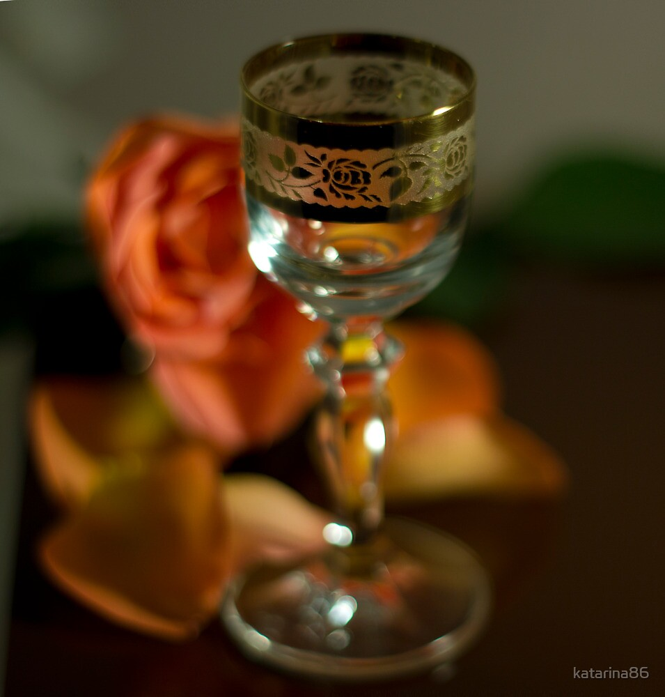 Vintage glass by katarina86
