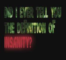 Insanity Far Cry 3 shirt by lenewtroll